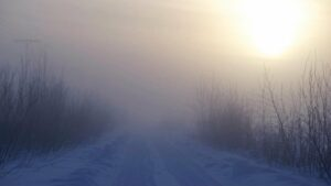 Nebbia e freddo almeno fino a Natale