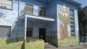 La street art di Ufo cinque colora il Centro per le famiglie