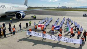 Medici e infermieri da Cuba per l'emergenza coronavirus