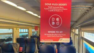 "Trenitalia ""fase 2"", sulla Torino Milano «affluenza ordinata»"