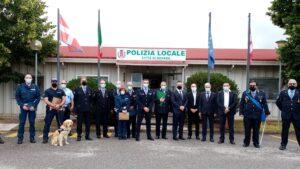La Polizia locale celebra il 156° anniversario di fondazione