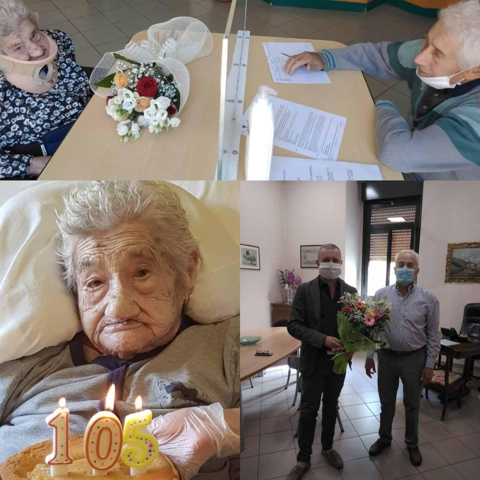 Nonnina di Oleggio 105 anni - La Voce di Novara